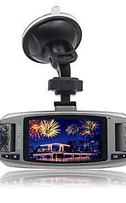 Daul lens 2.7''display lcd auto dvr blackbox voertuig camera nachtzicht 1920x1080p Full HD high-definition groothoek g-senser-parking