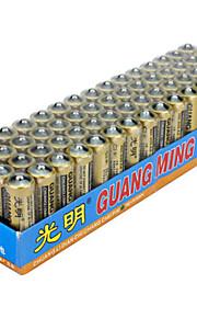 Guangming aa zink tørcellebatteri 1.5V 60 pack