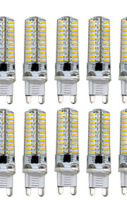 5W G9 G4 G8 GY6.35 LED à Double Broches T 80 SMD 4014 400-500 lm Blanc Chaud Blanc Froid Gradable AC110 AC220 V 10 pièces