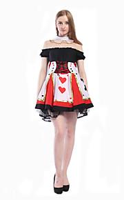 Cosplay Kostumer Party-kostyme Maskerade Trollmann/heks Prinsesse Dronning Cinderella Eventyr Film-Cosplay Kjole Halloween Karneval