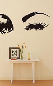 люди Наклейки Простые наклейки Декоративные наклейки на стены,Винил материал Украшение дома Наклейка на стену