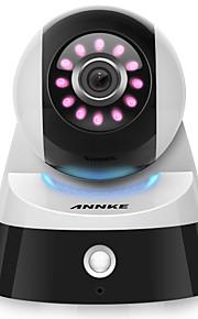 Annke® 2.0m 1080p hd mini smart wifi sikkerhedskamera med ir-cut 64 (dag nat motion detection) 2-vejs lyd