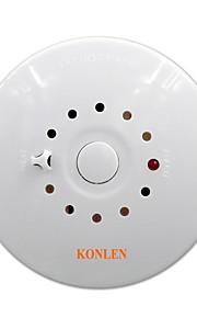 Rilevatore di fumo antincendio e allarme sensore temperatura temperatura 2 in 1 rivelatore combinazione cablato 12v per la sicurezza della