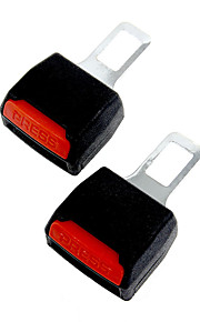 2 x auto ondersteuning veiligheid alarm stop canceller veiligheidsgordel clip gesp uitbreider