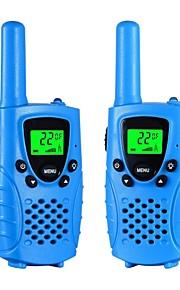 Walkie talkies voor kinderen 22-kanaals micro usb opladen 2-way radio 3 mijl (tot 5 mijl) frs / gmrs handheld mini walkie talkies voor