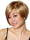 capless a court d\'un brun dore avec perruque blonde Bob cheveux synthetiques (jf1024)