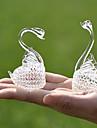 Gifts Bridesmaid Gift Crystal Swans Keepsake (Set of 2)