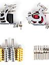 kit de tatuaje oferta limitada de 2 maquinas de tatuaje con lcd de energia