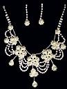 Women\'s Alloy Jewelry Set Imitation Pearl/Rhinestone