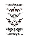 5 pieces etanches tatouage temporaire (17.5cm * 10cm)