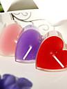 conception de coeur petite bougie (ensemble de 6)