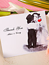 Thank You Card - Cute Kiss (Set of 50)