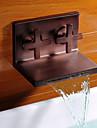 antik olja gnidas brons vattenfall kran badrum sink