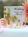 Vârfuri de Tort Personalizat Cuplu Clasic Cristal Nuntă / Petrecerea Bridal Shower Galben Temă Grădină Cutie de Cadouri