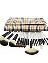 20 ensembles de brosses Pinceau en Nylon Autres Poil Synthetique Pinceau en Poils de Chevre Visage Levre OEil