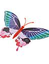 fluorescerande fjäril formade kylskåp magnet (slumpvis färg)
