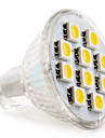 GU4(MR11) LED-spotlights MR11 10 SMD 5050 120 lm Varmvit DC 12 V