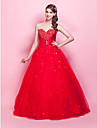 TS Couture Prom Formal Evening Quinceanera Sweet 16 Dress - Vintage Inspired Celebrity Style Ball Gown Princess Strapless Sweetheart