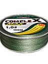 Complex PE Braided Line 100m (Dark Green)