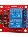 (För Arduino) 2-kanals 5v relämodul expansionskort