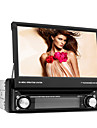 7-inch 1 Din TFT Screen In-Dash Car DVD Player With Bluetooth,Navigation-Ready GPS,RDS,Detachable Panel,TV