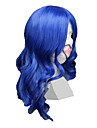 Cosplay Wigs Vocaloid Kaito Blue Medium Anime/ Video Games Cosplay Wigs 55 CM Heat Resistant Fiber Male