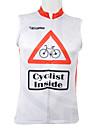 Kooplus Gilet de Cyclisme Sans Manches Homme Sans manche Velo Gilet/Sans Manche Hauts/TopsSechage rapide Zip frontal Vestimentaire