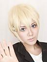 Cosplay Peruker Inu x Boku SS Banri Watanuki Guld Kort Animé Cosplay Peruker 30 CM Värmebeständigt Fiber Man