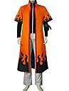 Inspirerad av Naruto Naruto Uzumaki Animé Cosplay Kostymer/Dräkter cosplay Suits Lappverk Orange Lång ärm Kappa / Byxor