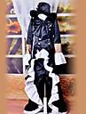 Inspirerad av Black Butler Ciel Phantomhive Animé Cosplay Kostymer/Dräkter cosplay Suits Vintage Svart / Blå Lång ärm Klänning / Hatt