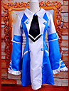 Inspired by Pandora Hearts Echo Anime Cosplay Costumes Cosplay Suits / Dresses Patchwork Blue Sleeveless Dress