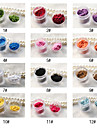 2st Andra DIY Style Nail Dekorationer (12 Färg till val)