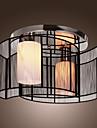 sl® taklampa modern design sovrum 2 lampor svart