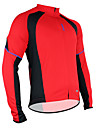 SANTIC Cycling Tops / Jerseys Men\'s Bike Breathable / Moisture Permeability / Quick Dry / Thermal / Warm / Sweat-wicking Long SleeveHigh