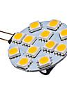Ampoule Spot LED a Lumiere Blanche Chaude (G4 - 1,5 W - 12 x 5050 SMD - 70 LM - 2700K -12 V)