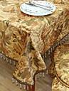 Traditionella Polyester Khaki Print Blommor dukar