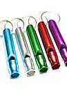 sifflet Randonnees Survie / Sifflet en alliage d\'aluminium Vert / Rouge / Bleu / Violet / argent