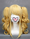 Cosplay Wigs Black Butler Elizabeth Golden Short Anime Cosplay Wigs 40 CM Heat Resistant Fiber Female