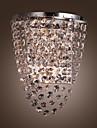sl® kristall / lampa vägg brickor, modern / ledda integrerade metall