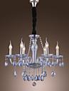 Lustre ,  Traditionnel/Classique Rustique Lanterne Globe Retro Plaque Fonctionnalite for Cristal VerreSalle de sejour Chambre a coucher