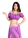 Dancewear Chiffon Belly Dance Top For Ladies More Colors