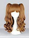 Sweet Love Auburn Rust Curly Pigtail 55cm Lolita Peruk