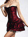 Dentelle Brocade Top Jupe Gothic Lolita Corset Set