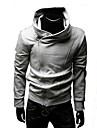 för män sned dragkedja hoodie