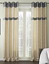 deux panneaux mediterraneen geometrique rayonne rideau