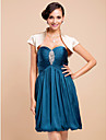 Wedding  Wraps Shrugs Short Sleeve Stretch Satin As Picture Shown Wedding / Party/Evening High Neck Capped Open Front