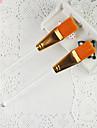 1PCS Orange Nail Art Pensel för Velvet Dekoration