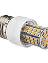 E27 5W 60x2385SMD 450-500lm 2700-3500K Varmvit LED Corn Bulb (220-240V)