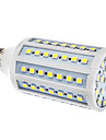 E27 15W 86x5050SMD 1200-1300LM 6000-6500K Natural White Light LED Corn Bulb (110/220V)