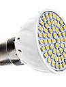 5W B22 Spot LED 60 SMD 3528 240 lm Blanc Chaud AC 100-240 V